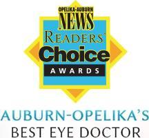 Auburn-Opelika's Best Eye Doctor by the OA News Reader's Choice