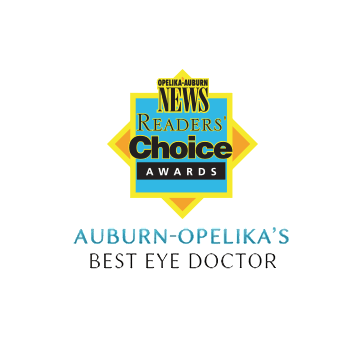 Auburn-Opelika's Best Eye Doctor by the OA News Reader's Choice